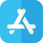 Apple Store Icon zum Herunterladen der Ludowig App Fleisch online bestellen
